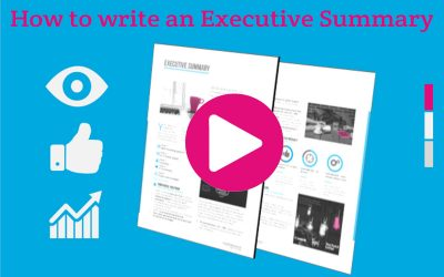 How to write an Executive Summary for your winning proposal (video)
